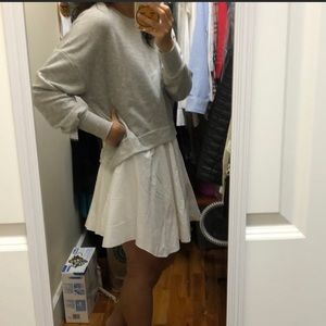 Zara size small sweatshirt tunic or dress